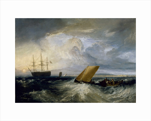 Sheerness as seen from the Nore, 1808 by Joseph Mallord William Turner