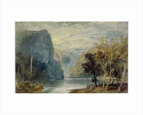 The Lorelei rock, 1817 by Joseph Mallord William Turner