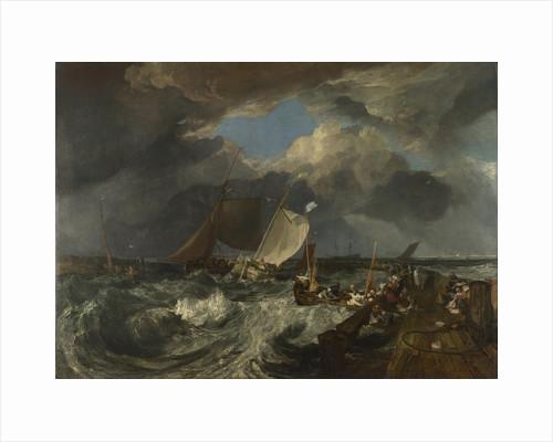 Calais Pier, 1803 by Joseph Mallord William Turner