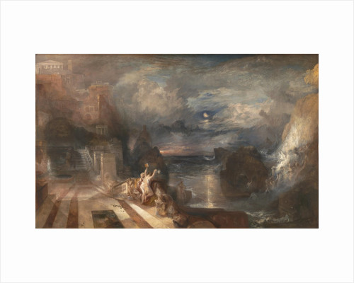 The Parting of Hero and Leander, before 1837 by Joseph Mallord William Turner