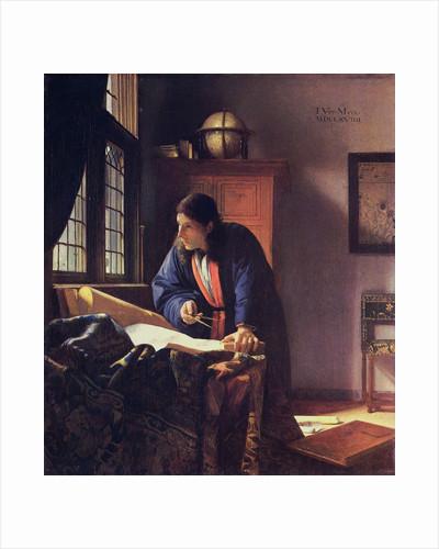 The Geographer by Jan Vermeer