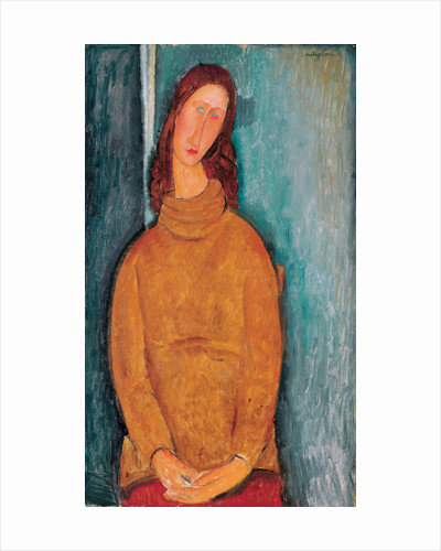 Portrait of Jeanne Hébuterne by Amedeo Modigliani