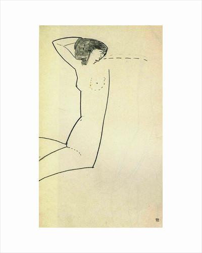 Anna Akhmatova, 1911 by Amedeo Modigliani