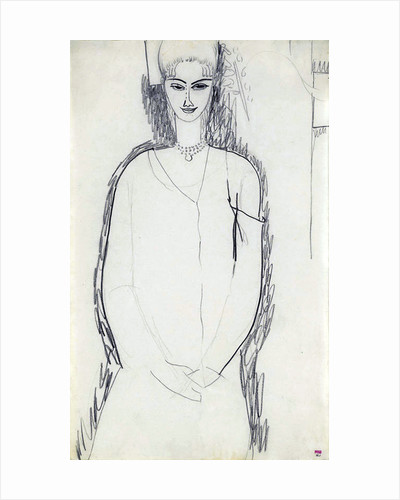 Anna Akhmatova by Amedeo Modigliani