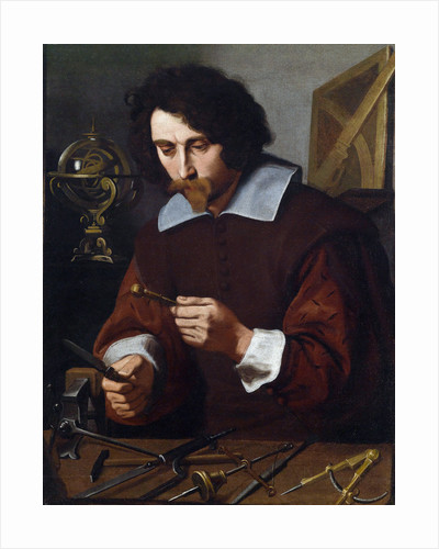 An inventor of mathematical instruments by Pietro Paolini
