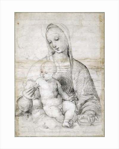 Madonna with the Pomegranate by Raphael