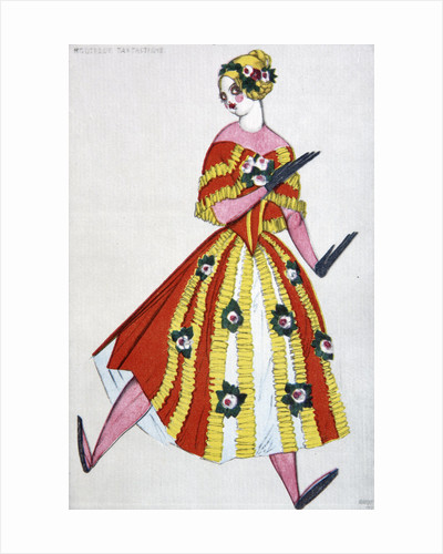 Costume design for the ballet The Magic Toy Shop by G. Rossini by Leon Bakst
