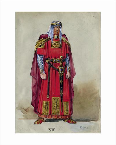 Medieval Prince. Costume design by Leon Bakst