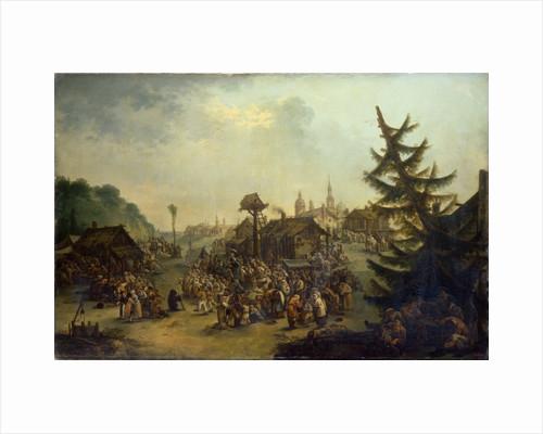 Peasants merry-making, 1779 by Ivan Michailovich Tankov