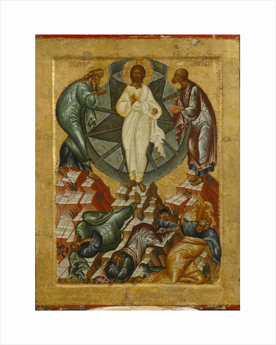 The Transfiguration of Jesus, 1497 by Russian icon