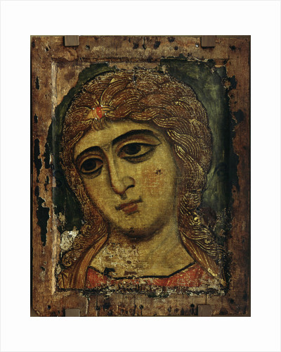 The Archangel Gabriel (The Angel with Golden Hair), ca 1200 by Russian icon