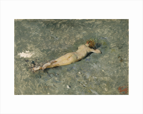 Nude on the Beach at Portici, 1874 by Marià Fortuny