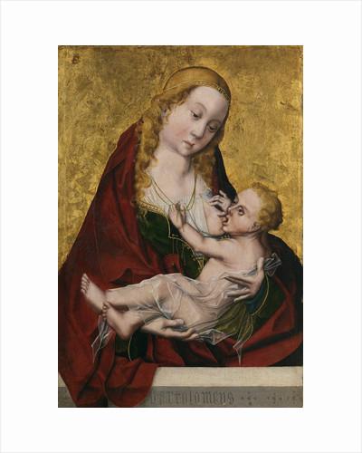 Tthe Virgin suckling the Child, c. 1490 by Maestro Bartolomé