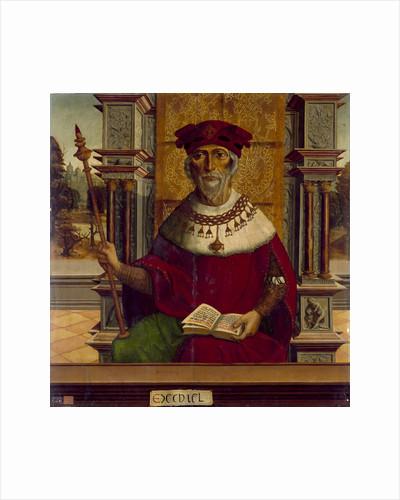 The Prophet Ezekiel, c. 1525 by Maestro de Becerril