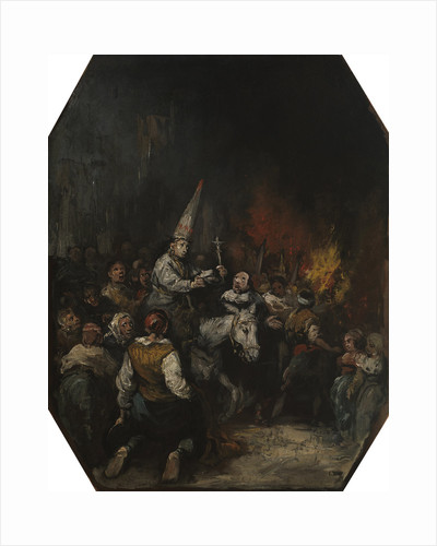 Convicted by the inquisition, ca 1860 by Eugenio Lucas Velázquez