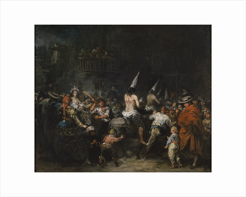Convicted by the inquisition, Second Half of the 19th cen by Eugenio Lucas Velázquez