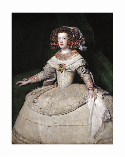The infanta Maria Theresa of Spain by Diego Velazquez