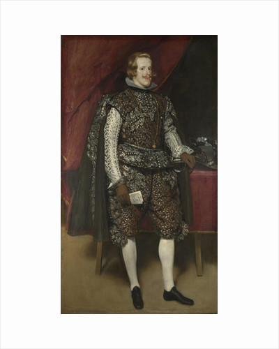 Philip IV of Spain in Brown and Silver, ca 1631 by Diego Velàzquez