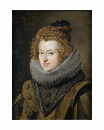 Portrait of Maria Anna (1606-1646), Infanta of Spain by Diego Velazquez