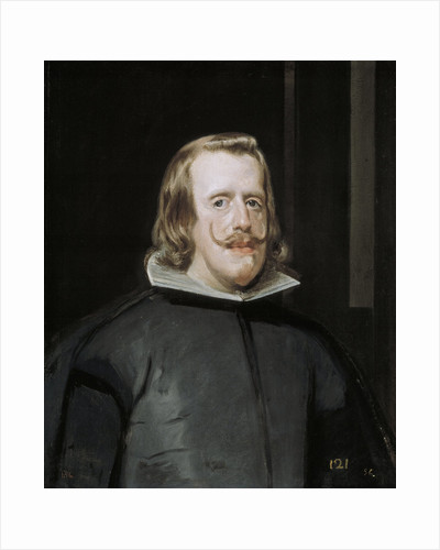 Portrait of Philip IV of Spain by Diego Velazquez