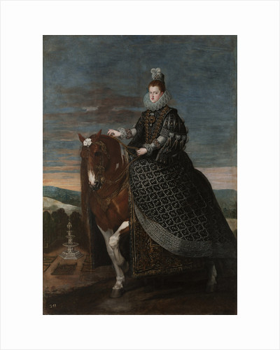 Equestrian Portrait of Margarita of Austria (1584?1611), Between 1630 and 1635 by Diego Velàzquez