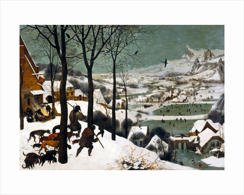 Hunters in the Snow (Winter) by Bruegel