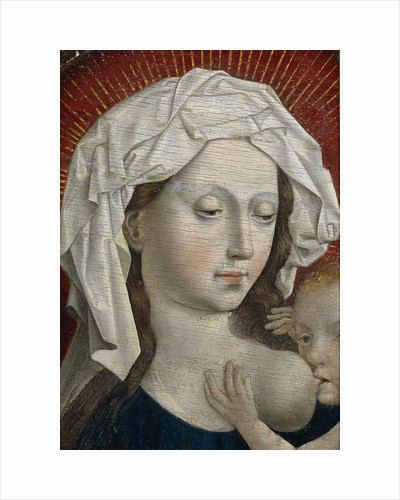 Tthe Virgin suckling the Child, 15th century by Robert Campin