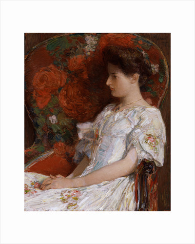 The Victorian Chair, 1906 by Childe Hassam