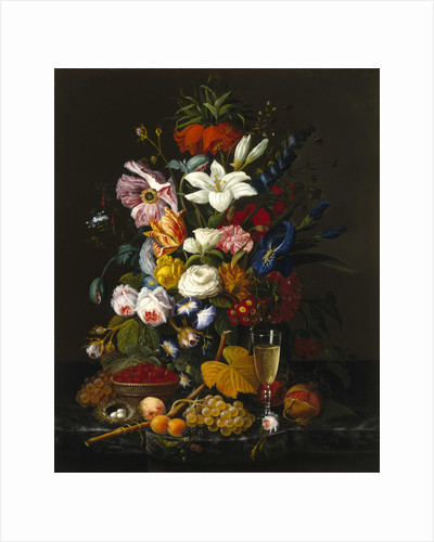 Victorian Bouquet, c. 1850 by Severin Roesen