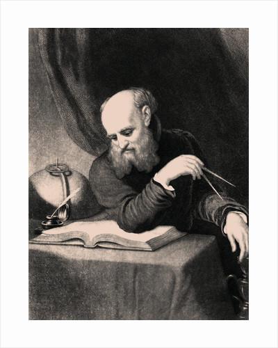 Galileo Galilei by Samuel Sartain