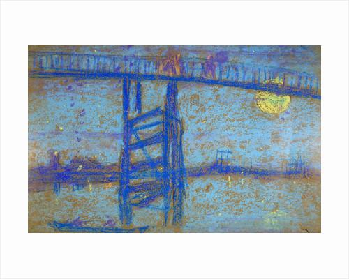 Nocturne: Battersea Bridge by James Abbott McNeill Whistler
