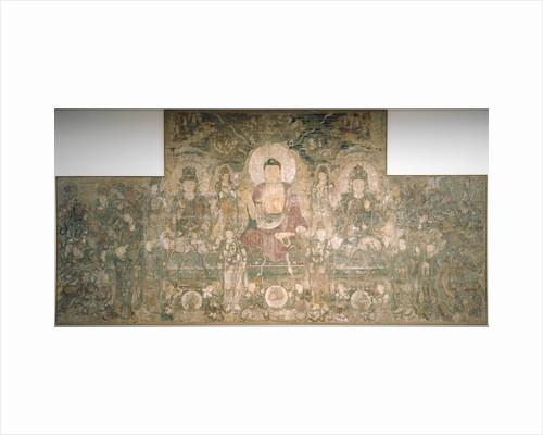Bhaisajyaguru, the buddha of healing and medicine, ca 1319 by Anonymous