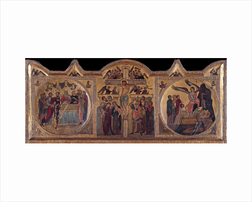 Altarpiece with crucifixion from Soest, ca 1240 by Anonymous