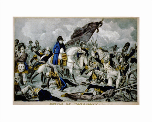 The Battle of Waterloo on 18th Juny 1815 by Anonymous