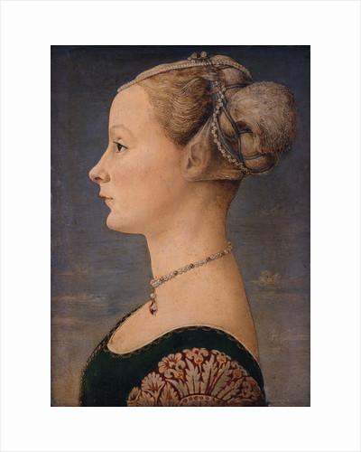 Portrait of a Woman, Second Half of the 15th cen by Piero del Pollaiuolo