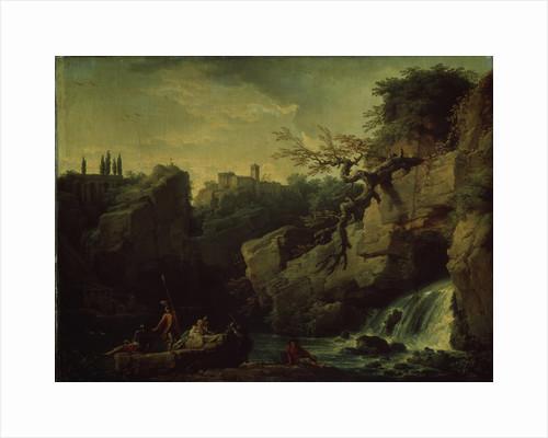 Romantic landscape (Landscape in the Taste of Salvatore Rosa), 1746 by Claude Joseph Vernet