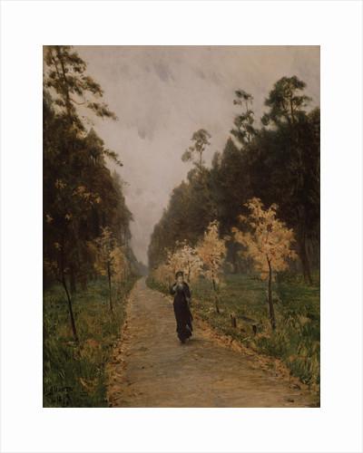 Autumn day. Sokolniki, 1879 by Isaak Ilyich Levitan