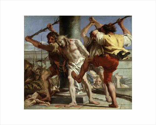 Christ at the Column, 1772 by Giandomenico Tiepolo