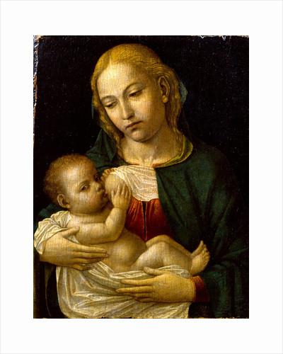 Madonna del Latte, ca 1485 by Ambrogio Bergognone