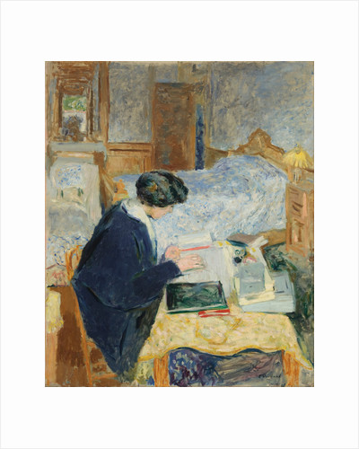 Lucy Hessel Reading, 1913 by Édouard Vuillard