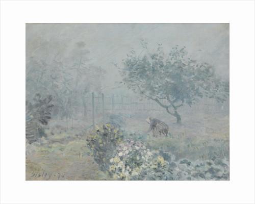 Fog, Voisins, 1874 by Alfred Sisley