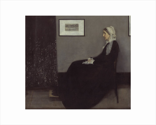 Arrangement in Grey and Black No. 1 (Portrait of the Artists Mother), 1871 by James Abbott McNeill Whistler