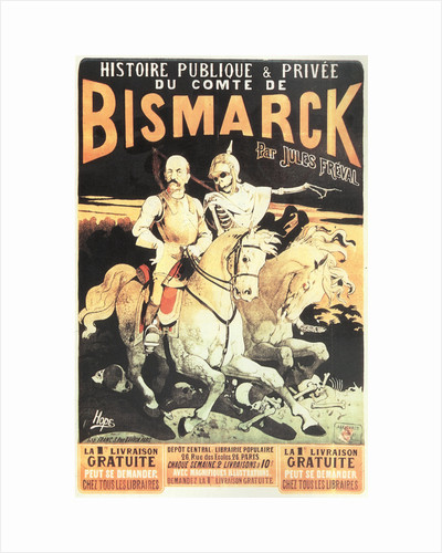 The public and private history of Count Bismarck, 1883 by Léon Choubrac
