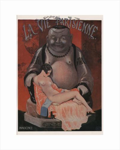 Innocence. La Vie Parisienne Magazine Cover, 1925 by Georges Léonnec
