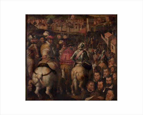 Triumph of the war against Siena, 1563-1565 by Giorgio Vasari