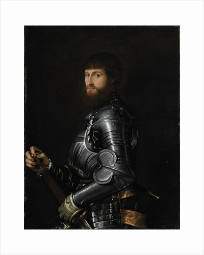 Portrait of a Nobleman in Armour, Between 1540 and 1560 by Giovan Battista Moroni