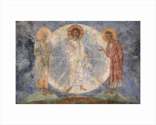 The Transfiguration of Jesus, 12th century by Ancient Russian frescos