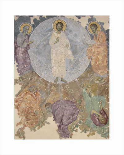 The Transfiguration of Jesus, ca 1380 by Ancient Russian frescos