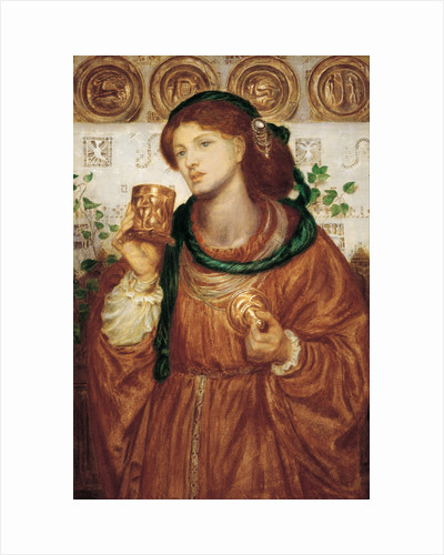 The Loving Cup, ca 1867 by Dante Gabriel Rossetti