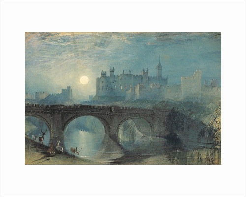 Alnwick Castle, c. 1829 by Joseph Mallord William Turner